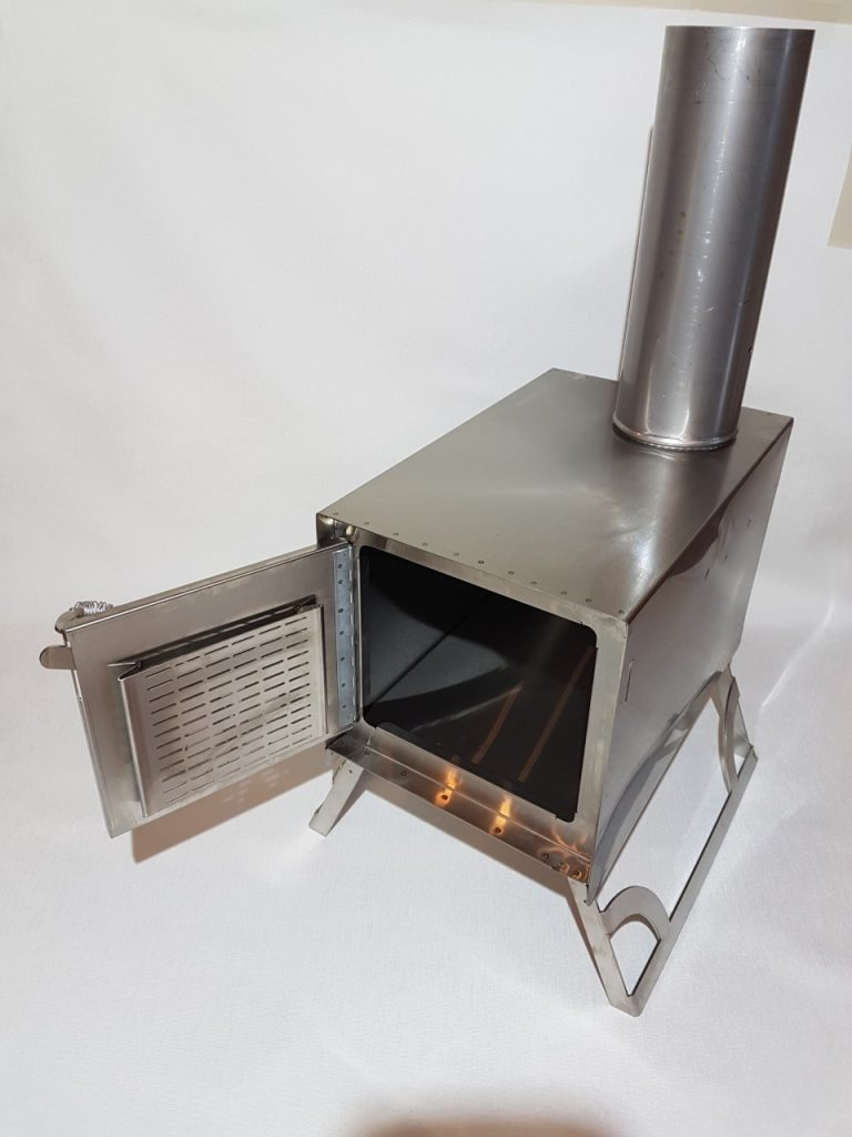 Stainless Steel Portable Wood Stove